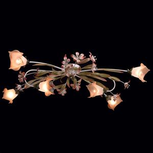 Lampa wisząca Verona Flora 6 Beżowy - 1340506 small 1