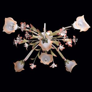 Lampa wisząca Verona Flora 6 Beżowy - 1340506 small 2