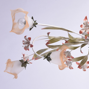 Lampa wisząca Verona Flora 6 Beżowy - 1340506 small 12