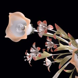 Lampa wisząca Verona Flora 6 Beżowy - 1340506 small 13