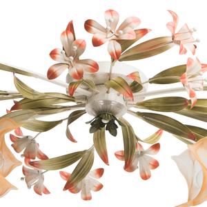 Lampa wisząca Verona Flora 6 Beżowy - 1340506 small 14