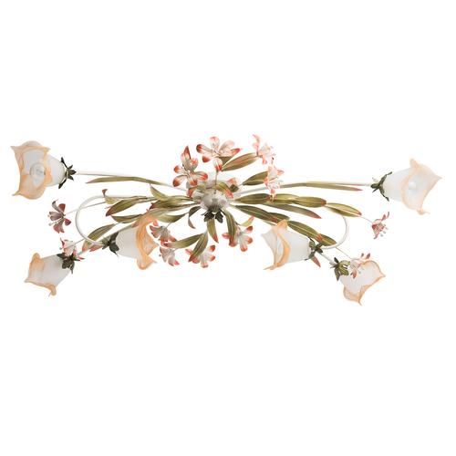 Lampa Verona Flora 6 Beżowy - 1340506