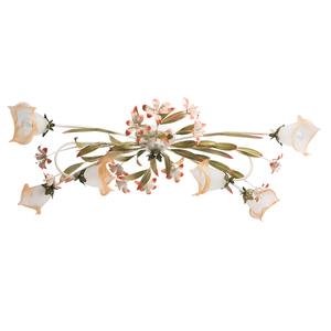 Lampa wisząca Verona Flora 6 Beżowy - 1340506 small 0