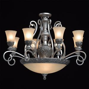 Lampa wisząca Bologna Country 11 Srebrny - 254011512 small 1