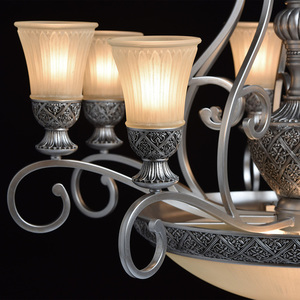 Lampa wisząca Bologna Country 11 Srebrny - 254011512 small 8