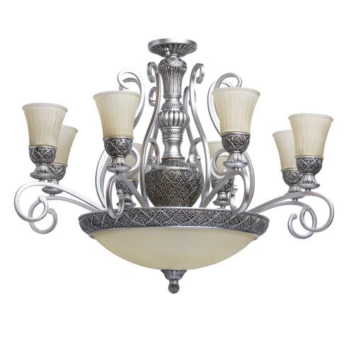 Lampa wisząca Bologna Country 11 Srebrny - 254011512