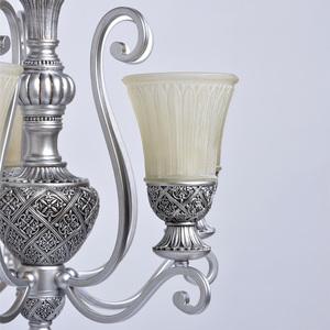 Lampa wisząca Bologna Country 5 Srebrny - 254013605 small 5