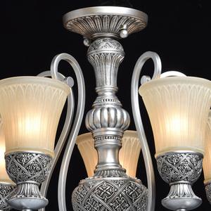 Lampa wisząca Bologna Country 5 Srebrny - 254013605 small 6