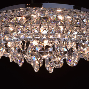 Lampa wisząca Venezia Crystal 7 Chrom - 276014207 small 11