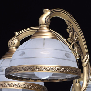 Lampa wisząca Amanda Classic 5 Mosiądz - 295011005 small 3