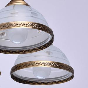 Lampa wisząca Amanda Classic 5 Mosiądz - 295011005 small 5