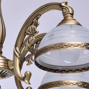 Lampa wisząca Amanda Classic 5 Mosiądz - 295011005 small 6