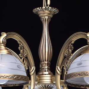 Lampa wisząca Amanda Classic 5 Mosiądz - 295011005 small 7