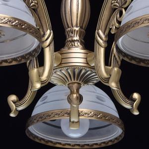 Lampa wisząca Amanda Classic 5 Mosiądz - 295011005 small 8