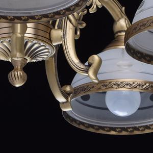 Lampa wisząca Amanda Classic 5 Mosiądz - 295011005 small 9