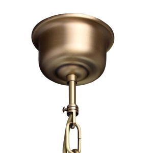 Lampa wisząca Amanda Classic 5 Mosiądz - 295011005 small 11