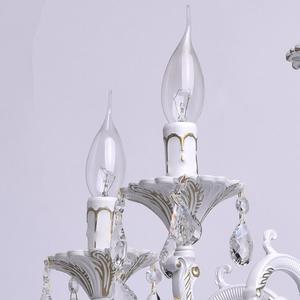 Żyrandol Candle Classic 5 Biały - 301014605 small 3