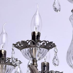 Żyrandol Candle Classic 6 Mosiądz - 301015006 small 3