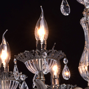 Żyrandol Candle Classic 6 Mosiądz - 301015006 small 4
