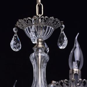 Żyrandol Candle Classic 6 Mosiądz - 301015006 small 10