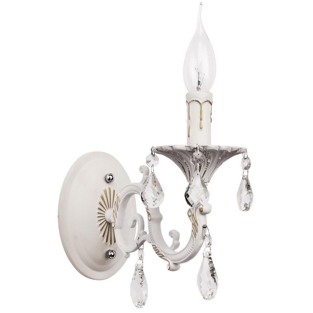 Kinkiet Candle Classic 1 Biały - 301024501