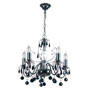 Lampa wisząca Barcelona Classic 5 Czarny - 313010105 small 0