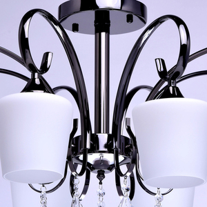 Lampa wisząca Porto Megapolis 8 Chrom - 315011308 small 8