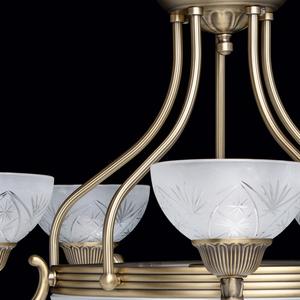 Lampa wisząca Aphrodite Classic 5 Mosiądz - 317013308 small 9