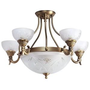 Lampa wisząca Aphrodite Classic 5 Mosiądz - 317013308 small 0