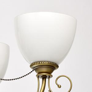 Lampa wisząca Felice Classic 8 Mosiądz - 347016608 small 3
