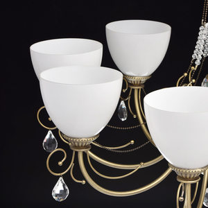Lampa wisząca Felice Classic 8 Mosiądz - 347016608 small 5
