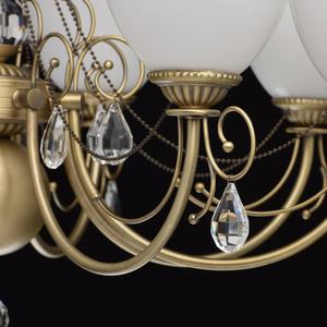 Lampa wisząca Felice Classic 8 Mosiądz - 347016608 small 7