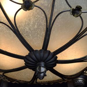 Lampa wisząca Magdalena Country 12 Brązowy - 382012812 small 6