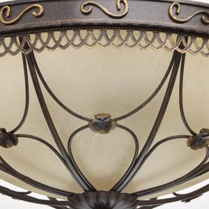 Lampa wisząca Magdalena Country 5 Brązowy - 382018205 small 3