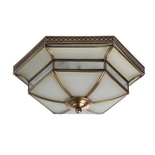 Lampa wisząca Marquis Country 3 Mosiądz - 397010103