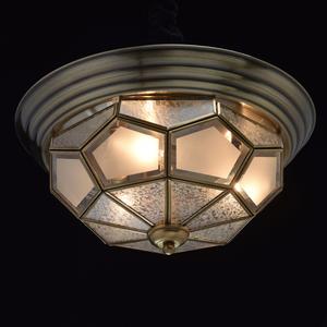 Lampa wisząca Marquis Country 3 Mosiądz - 397010403 small 1