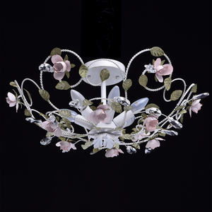 Lampa wisząca Provence Flora 6 Biały - 421013406 small 1