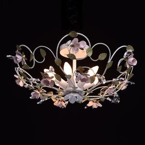 Lampa wisząca Provence Flora 6 Biały - 421013406 small 2