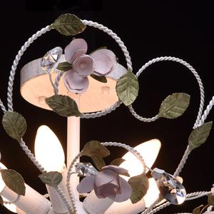 Lampa wisząca Provence Flora 6 Biały - 421013406 small 4