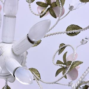 Lampa wisząca Provence Flora 6 Biały - 421013406 small 7