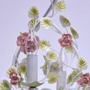 Żyrandol Provence Flora 6 Biały - 421013806 small 11