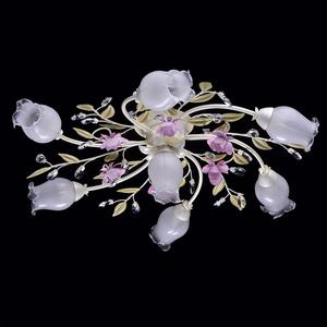 Lampa wisząca Provence Flora 7 Biały - 422010607 small 1