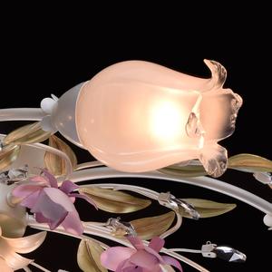 Lampa wisząca Provence Flora 7 Biały - 422010607 small 3