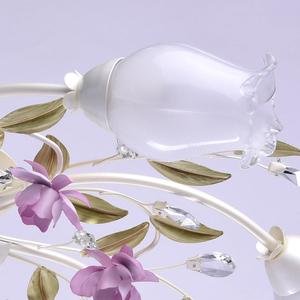 Lampa wisząca Provence Flora 7 Biały - 422010607 small 4