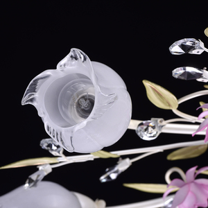 Lampa wisząca Provence Flora 7 Biały - 422010607 small 5