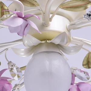 Lampa wisząca Provence Flora 7 Biały - 422010607 small 9