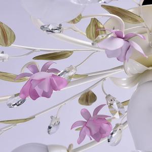 Lampa wisząca Provence Flora 7 Biały - 422010607 small 10