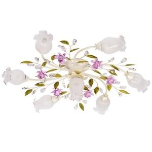 Lampa wisząca Provence Flora 7 Biały - 422010607 small 0