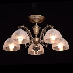Lampa wisząca Ariadna Classic 5 Mosiądz - 450010905 small 2