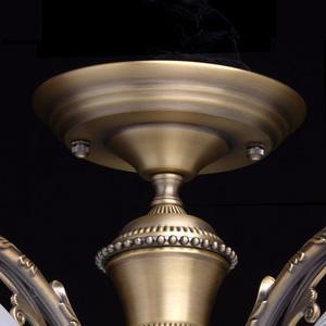 Lampa wisząca Ariadna Classic 5 Mosiądz - 450010905 small 10